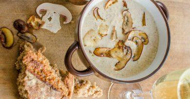 Гъбена супа с печурки
