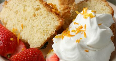 Tuscan lemon cake