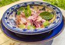 Мароканска салата с червен лук, мента и сумак