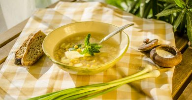Царевична супа с къри