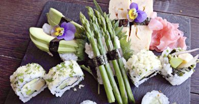 вегетарианско суши