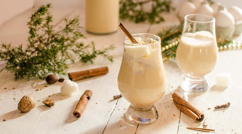 Eggnog – homemade English cocktail