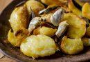 Картофи на фурна със салвия и чесън