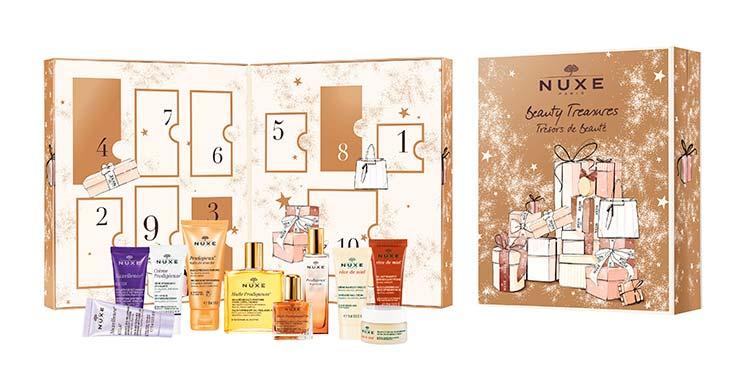 Празнични козметични подаръци Nuxe