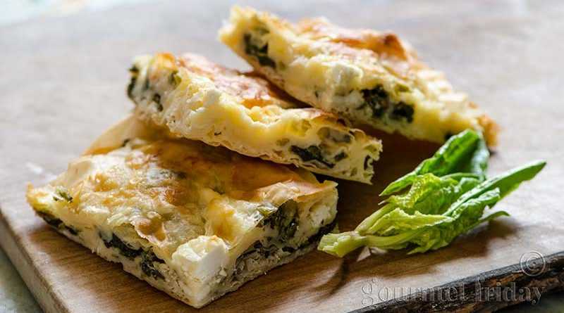 Bulgarian Spinach Pie