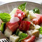 Панцанела – тосканска салата с хляб и домати