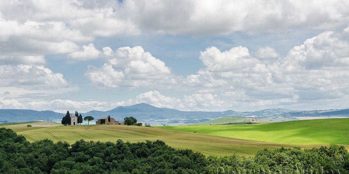 Val d'Оrcia и нейните скъпоценности