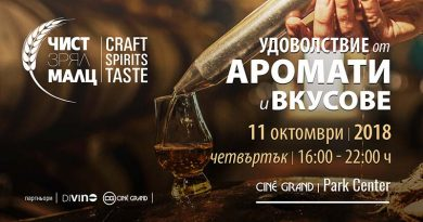 Чист. Зрял. Малц – Craft Spirits Taste 2018