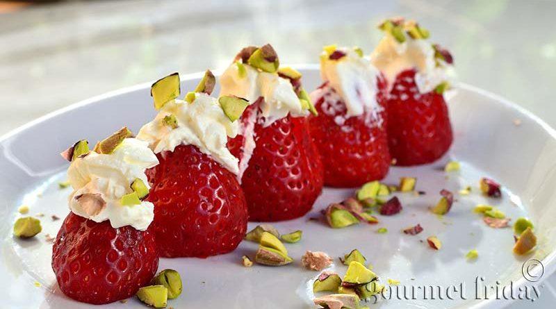 Парти хапки с ягоди