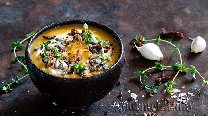 Супа от печена тиква