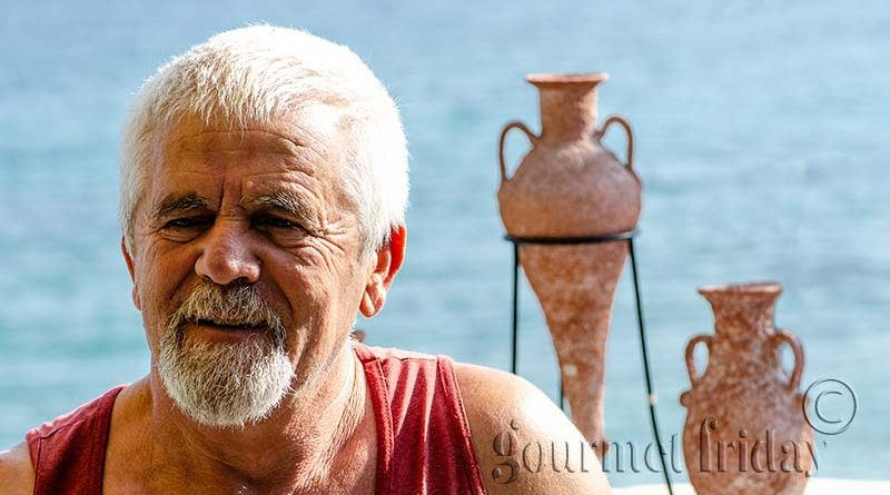 Костис керамика на остров Тасос