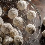 Sweets Raffaello cooked at home
