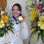 """Златен медал в категория """"Захарни цветя"""""""