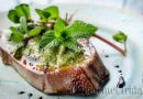 Veal tongue with parsley sauce