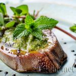 Veal tongue with parsley sauce from Piedmont