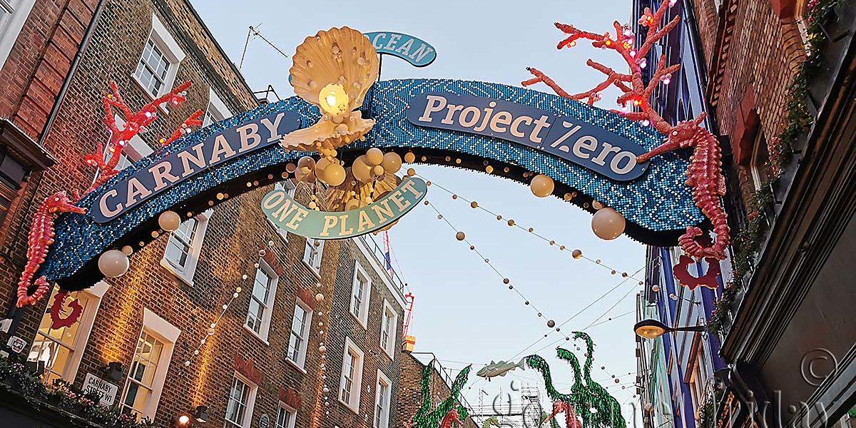 Carnaby Street Christmas Lights