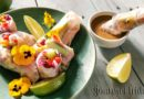 Spring rolls with Thai peanut sauce
