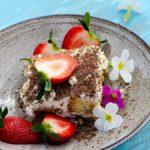 Tiramisu with a panettone or Easter Bread