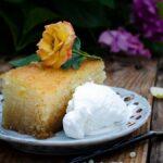 Samali - a traditional Greek semolina cake