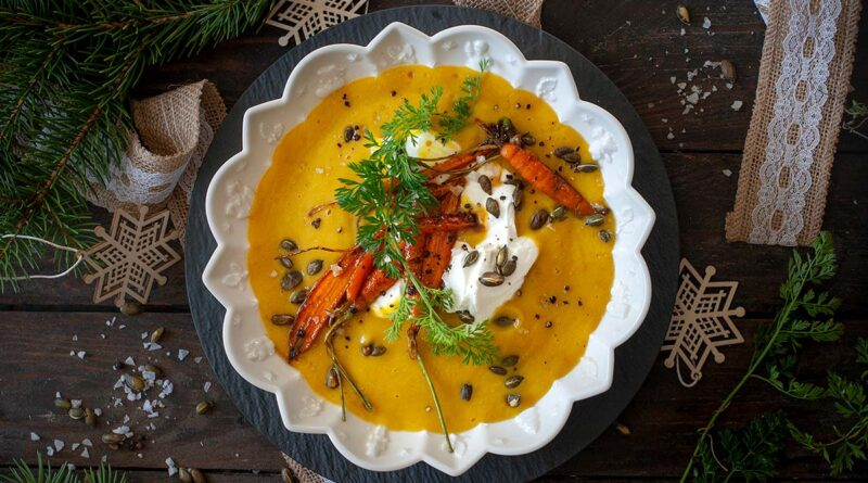 Крем супа с тиква