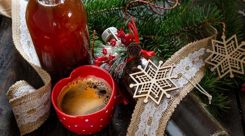 Christmas sugar syrup